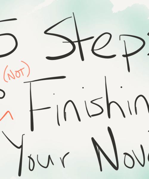 finish your novel writing tips